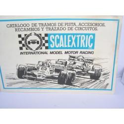 CATALOGO TRAMOS DE PISTA-ACCESORIOS-RECAMBIOS 1981