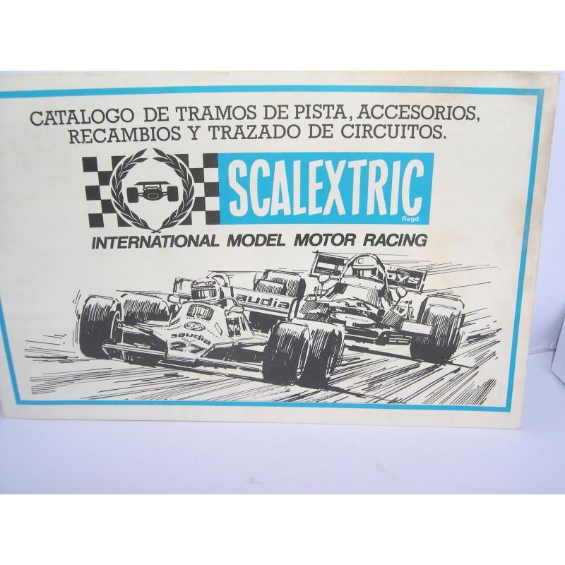 Catalogo tramos de pista accesorios recambios 1981 u32 for Catalogo de accesorios