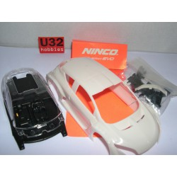CARROCERIA RENAULT MEGANE TROPHY 09 KIT WHITE