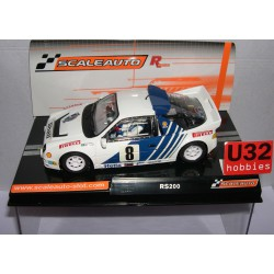FORD RS200 RALLY SWEDEN1986 Nº8