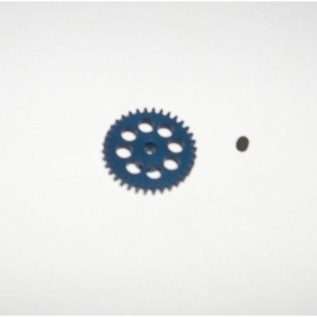 CORONA 34z SIDEWINDER DURALUMINIO 17.5mm EJE 2.38