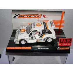 MG METRO GR4 CLARION RALLY 1000 LAKES 1986 Nº8