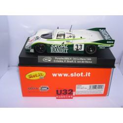 PORSCHE 956LH 3º LE MANS 1984  SKOAL  D.HOBBS Nº33