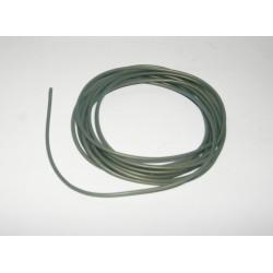 CABLE ELECTRICO SILICONA LIBRE DE OXIGENO NARANJA 0.5mm DIAMETRO 2mts LONGITUD
