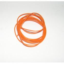 CABLE ELECTRICO SILICONA ULTRA FLEX 0.9mm DIAMETRO 1mt LONGITUD