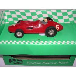 MASERATI 250F  MC F1 GP.BELGICA 1955 LUIGI MUSSO Nº5