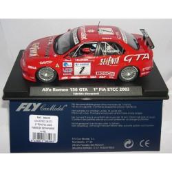 ALFA ROMEO 156 GTA 1º FIA ETCC2002 F.GIOVANARDI Nº1  A-781