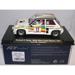 RENAULT 5 TURBO RALLY RACE COSTA BLANCA 1984 C.SAINZ-A.BOTO Nº12 A-1203