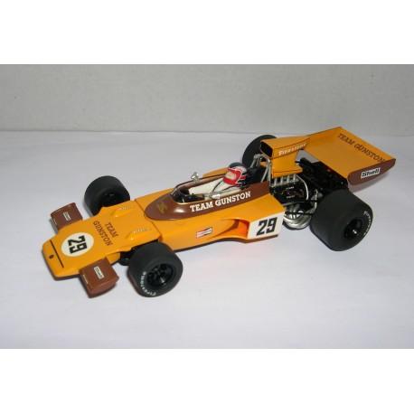 LOTUS 72 GP SUDAFRICA 1974  TEAM GUNSTON  IAN SCHECKTER Nº29