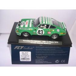PORSCHE 911 CARRERA RSR 24H. LEMANS 1973 G.QUIST-J.ZINK-M.LAUB Mº43  A-903