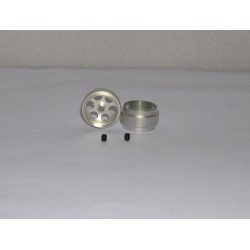 LLANTA UNIVERSAL 18x10mm (x2) 1.28gr. EJE 2.38