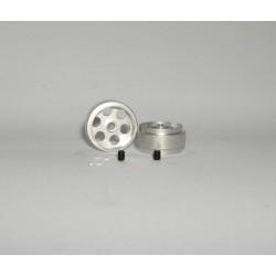 LLANTA UNIVERSAL 16.5x8.5mm (x2)  1.19gr.EJE 2.38