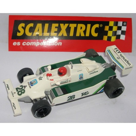 WILLIAMS FW07 F1 CLAY REGAZZONI Nº28