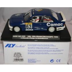 BMW M3 E30 24H.SPA FRANCORCHAMPS 1988 CAMAC ED.ESP.TEAM MAGNUM A.ALBACETE-J.PAREJA-J.A.SASIAMBARRENA Nº55 E-1701