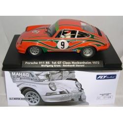 PORSCHE 911RS 1ºGT CLAS.HOCKENHEIM 1972 W.GROSS-R.STENZEL HYT LTED.ED.1200 UNITS Nº9