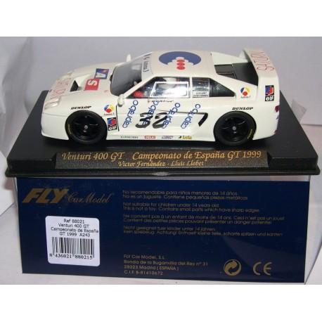 VENTURI 400 GT   CTO.ESPAÑA GT 1999 CAPRABO Nº32