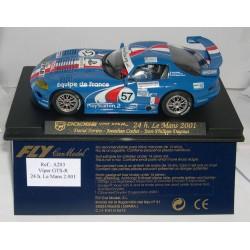DODGE VIPER GTS-R 24H LE MANS 2001 DAVID TERRIEN Nº57