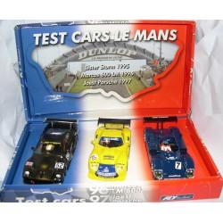 TEST CARS LE MANS 1995 LISTER STORM-1996 MARCOS 600LM-1997 JOEST PORSCHE