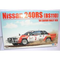 NISSAN 240RS BS110 SAFARI RALLY 1984