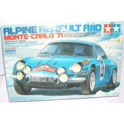 RENAULT ALPINE A110 RALLY MONTE CARLO 1971