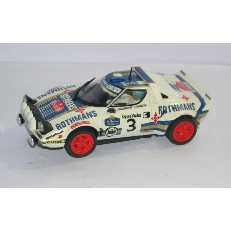 LANCIA STRATOS  RALLY CATALUNYA 1976 ROTHMANS Nº3
