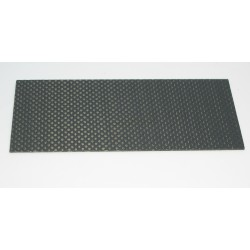 PLACA FIBRA DE CARBONO 140x62x1mm