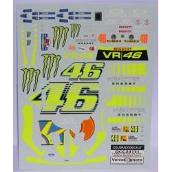 CALCA FORD FIESTA RS WRC  MONZA 2013 1/24 Nº46