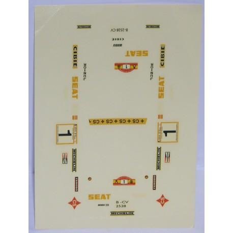 CALCA FIAT 131 ABARTH ZANINI 1/32