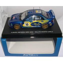 SUBARU IMPREZA WRC  RALLY MONTECARLO 2002 MAKINEN-LINDSTROM Nº10