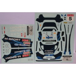CALCA FORD FIESTA RS WRC PORTUGAL 2014 Nº5 1/24
