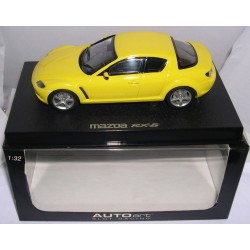 MAZDA RX-8 ROAD CAR YELLOW