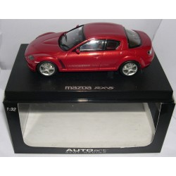 MAZDA RX-8 ROAD CAR RED