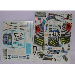 CALCA FORD FIESTA RS WRC  MEXICO 2012 MONSTER Nº43 1/24