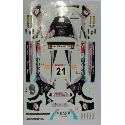 CALCA PEUGEOT 207 S2000 GEKO YPRES 2011  1/24