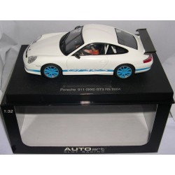 PORSCHE 911 (996) GT3 RS 2004 WHITE/BLUE