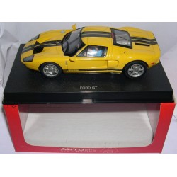 FORD GT 2003 YELLOW ROAD CAR