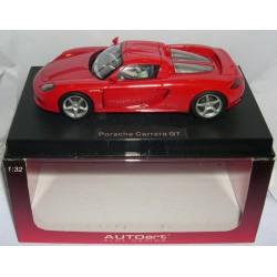 PORSCHE CARRERA GT RED ROAD CAR
