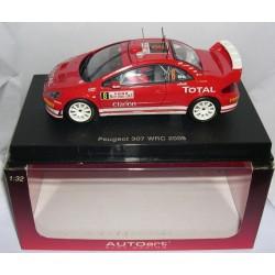 PEUGEOT 307 WRC  RALLY MONTECARLO 2005  MARTIN-PARK  Nº8