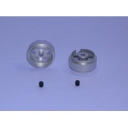 LLANTA UNIVERSAL 15.9x8.5mm (x2) ALU-MAGN 1.14gr.EJE 2.38
