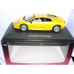 LAMBORGHINI MURCIELAGO  ROAD CAR YELLOW  1/24