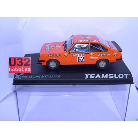 FORD ESCORT MKII RS2000    AUERBERG 1981  JAGERMEISTER  KETTERER  Nº52