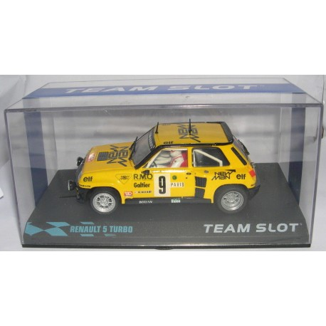 RENAULT 5 TURBO NEW MAN RALLY MONTECARLO B.SABY-F.SAPPEY  Nº9