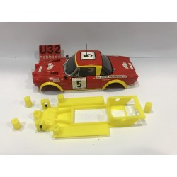 CHASIS 3D FIAT 124 ABARTH SPYDER SCALEXTRIC