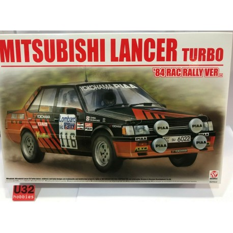 MITSUBISHI LANCER TURBO 1984 RAC RALLY