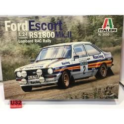 FORD ESCORT RS1800 MKII LOMBARD RAC RALLY A.VATANEN