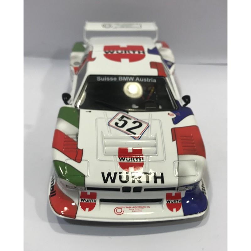 Bmw Gt M1: BMW M1 Gr.5 24H LE MANS 1981 WURTH TEAM SAUBER Nº52