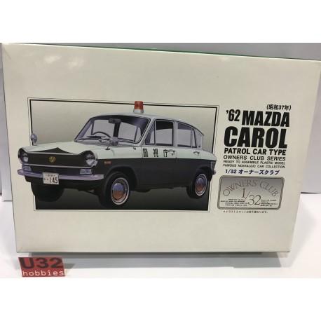 MAZDA CAROL 1962 PATROL POLICIA CAR TYPE
