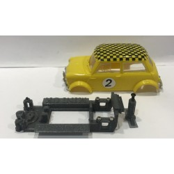 CHASIS 3D MINI COOPER CLUBMAN  SCALEXTRIC UK