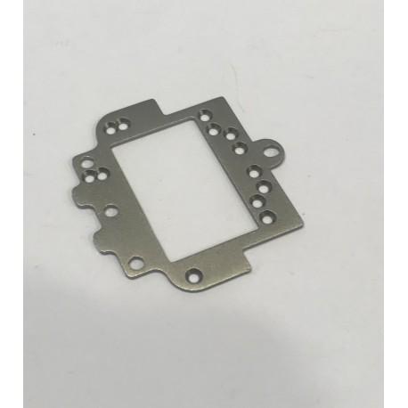 SUB CHASIS TRASERO ALUMINIO 1.2mm SC8003 GT3 1/24