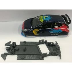 CHASIS 3D PEUGEOT 208 WRC SCALEAUTO